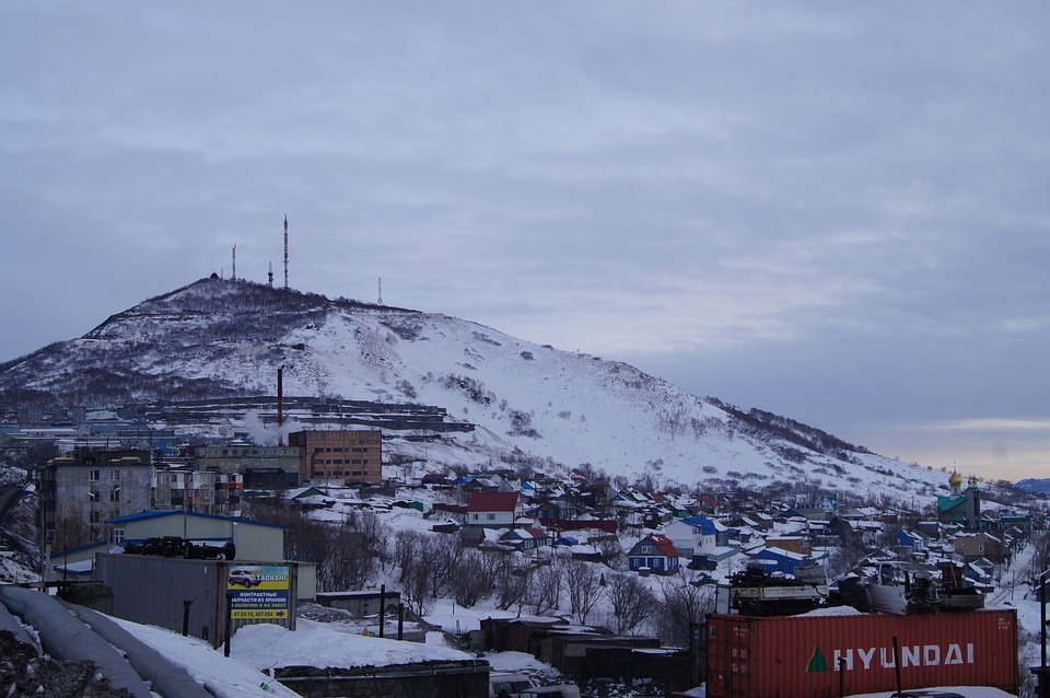 Kamchatka, Nature, Seroglazka, Nipple, The Target, Snow