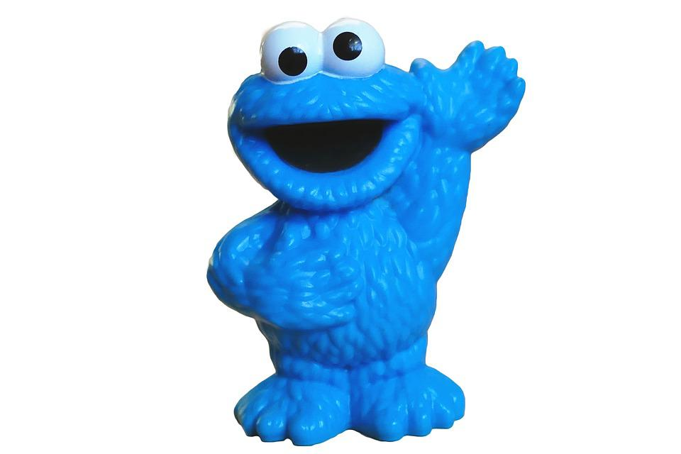 Cookie Monster, Sesame Street, Muppet, Blue, Funny