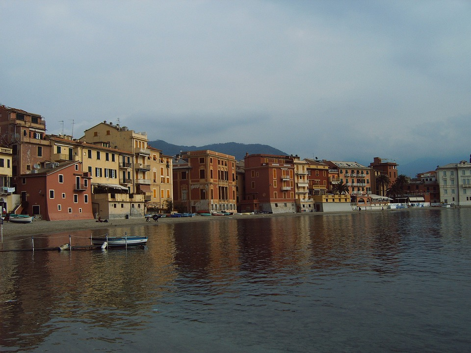 Sestri Levante, Italy, Coast, Sea, Water, Liguria