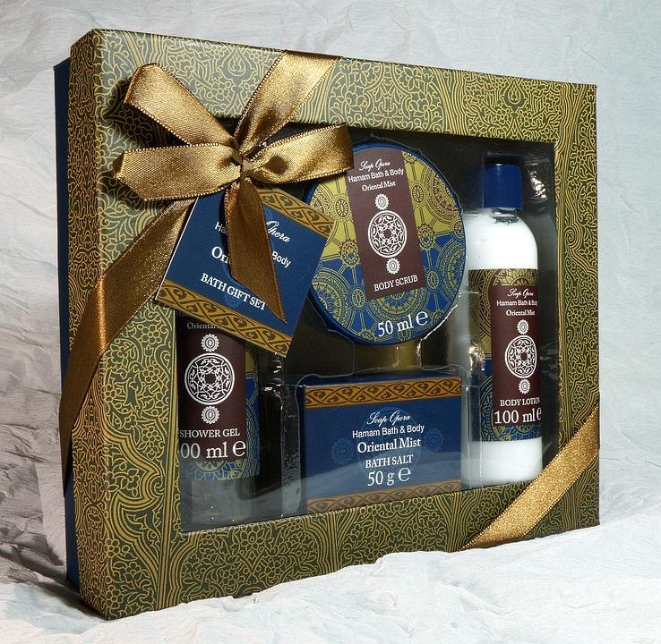 Gift, Present, Bath, Set, Shower, Gel, Wellness