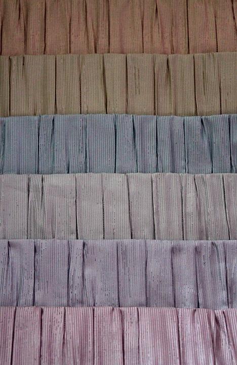 Fabric, Set, Blinds, Gradient, Multi Color