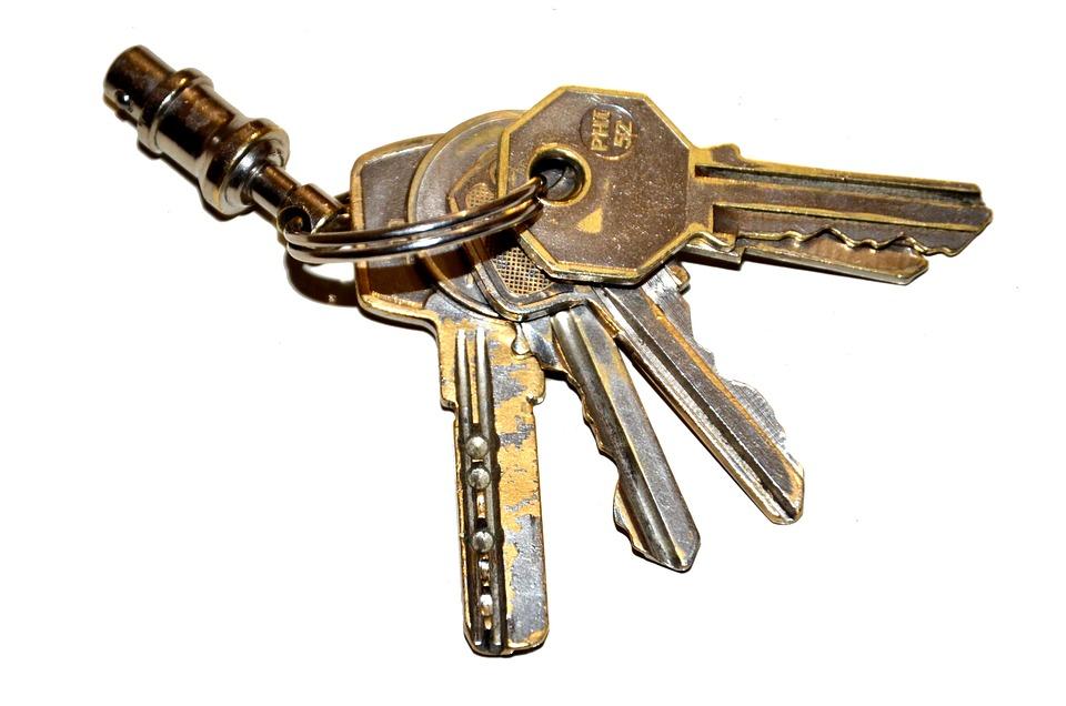 Keys, Keychain, Set Of Keys
