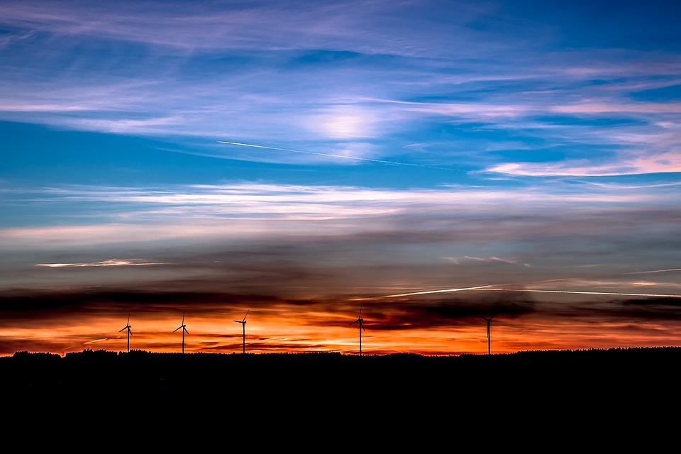 Sunset, Setting Sun, Evening Sky, Sky, Abendstimmung