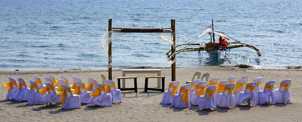 Iba, Philippines, Wedding, Setting, Beach, Celebration