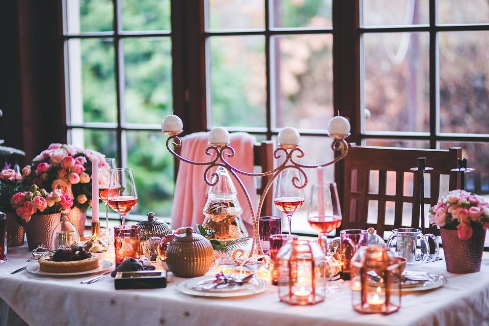 Christmas, Xmas, Table, Setting, Love, Lovely, Family