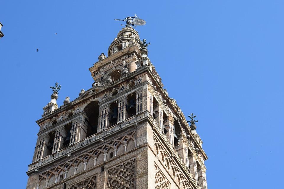 Seville, Sky, Giralda