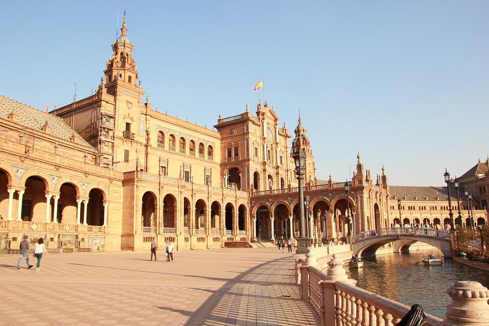 Spain, Seville Spain Square, Seville