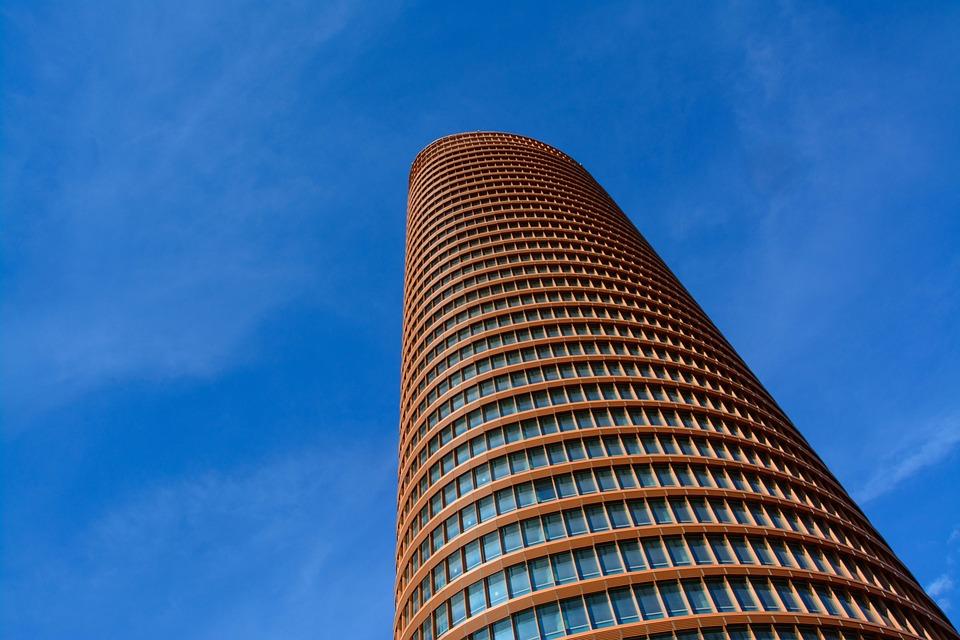 Torre Cajasol, Spain, Seville, Architecture, Building