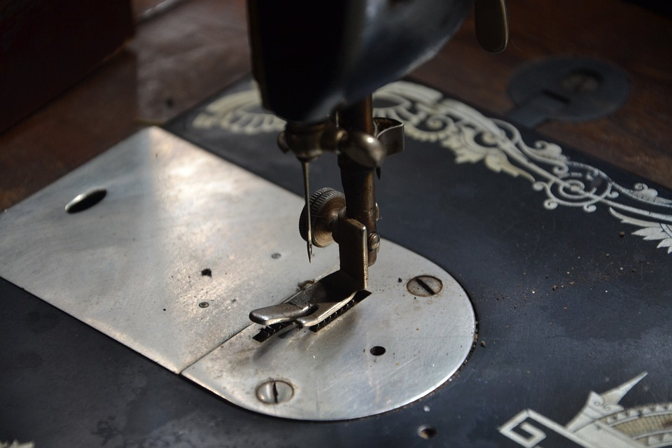 Sewing Machine, Machine, Production, The Production Of
