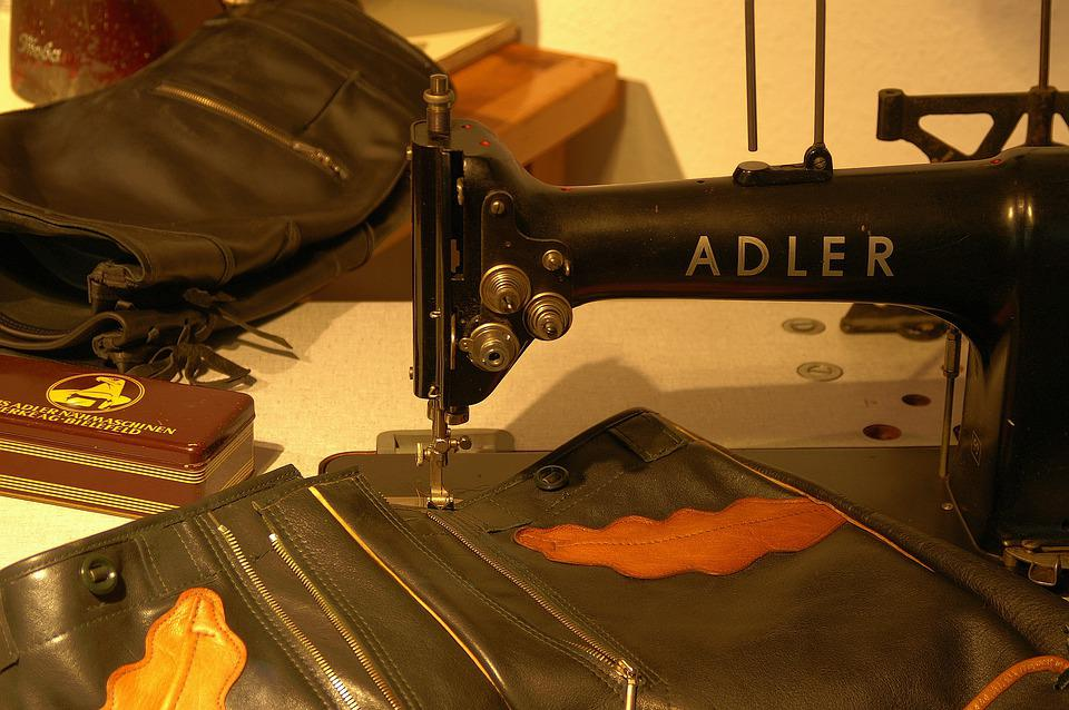 Sewing Machine, Craft, Sew, Sewing, Tailoring, Leather