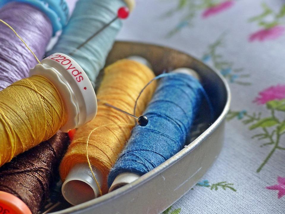 Sewing Thread, Sew, Yarn, Thread, Bobbin, Nähutensilien