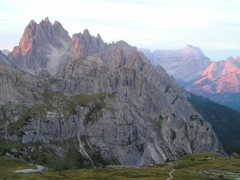 Einserkofel, Zwölferkofel, Sexten Dolomites, Climb