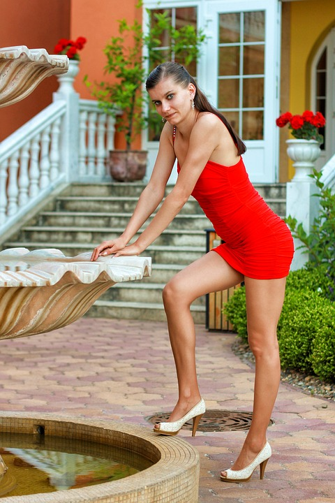 Woman, Young Woman, Holiday, Hotel, Sexy, Long Legs
