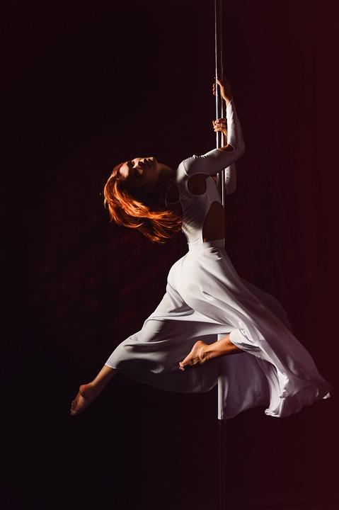 Pole Dance, Woman, Sexy, Elegant, Pole, Dance, Pylon