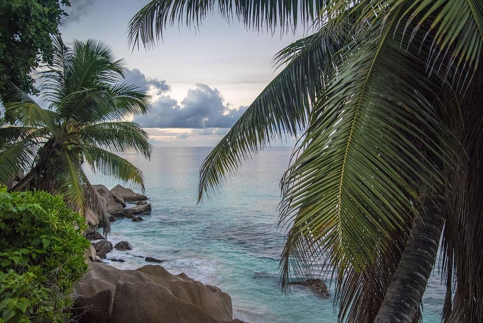 Seychelles, Landscape, Sea, Beach, Nature, Ocean