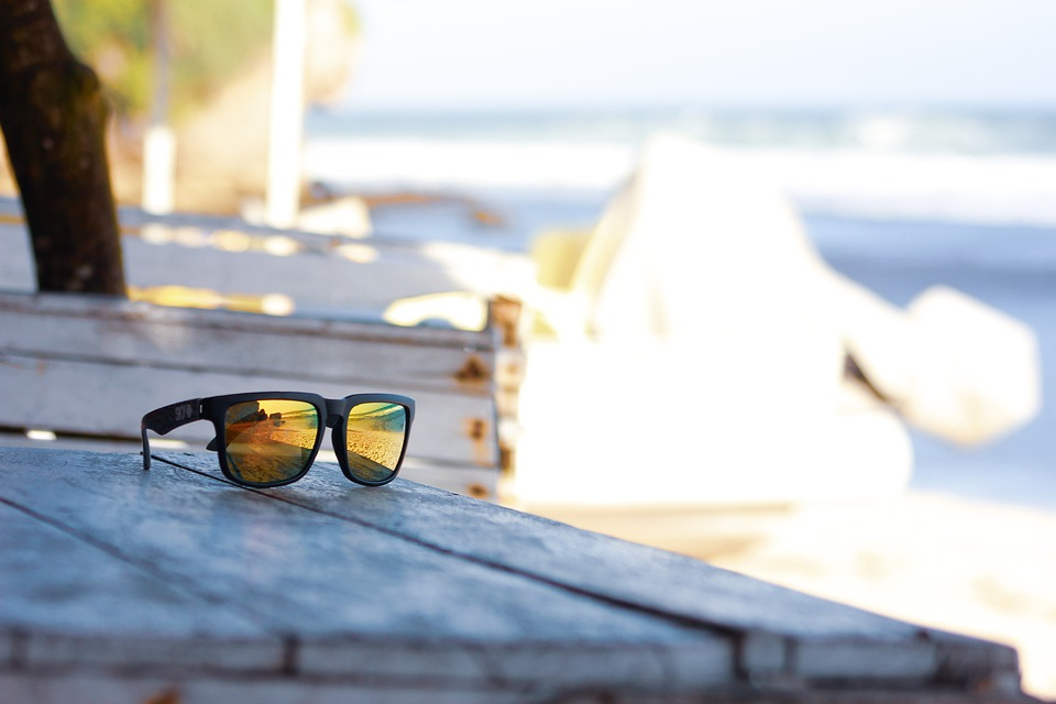 Sunglasses, Fashion, Table, Shades, Eyewear, Beach