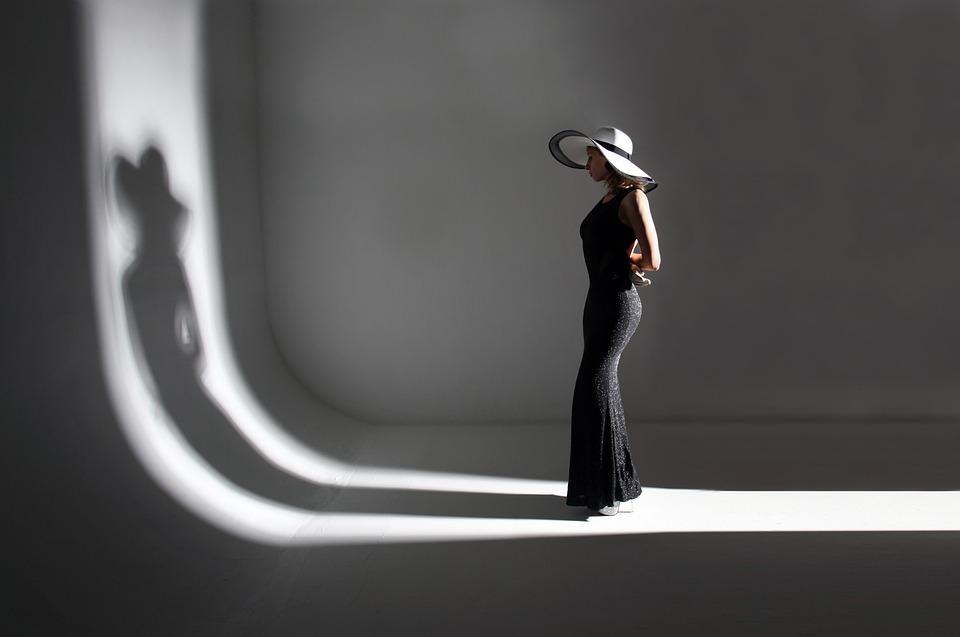 Woman, Fashion, Model, Girl, Female, Pose, Shadow, Lady