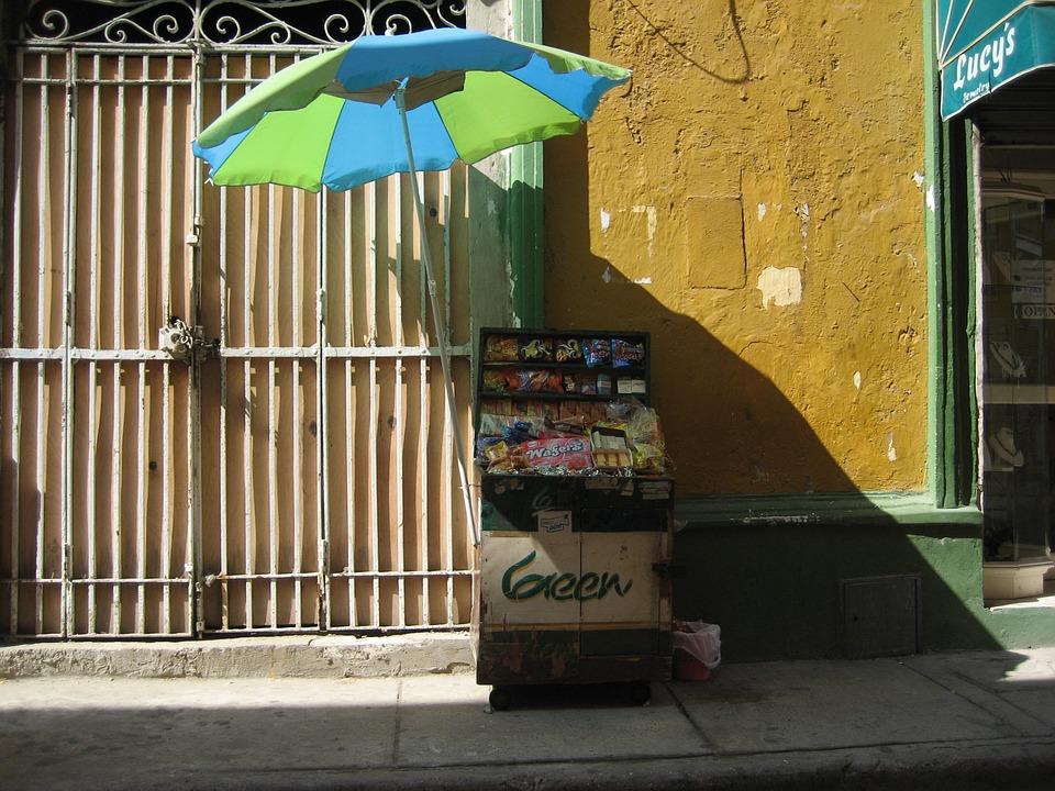 Cartagena, Colombia, Old, Shadow, Forging, Window
