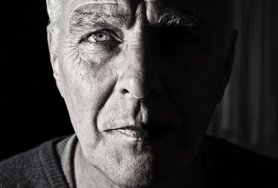 Face, Portrait, Man, Male, Head, Old, Phantom, Shadow
