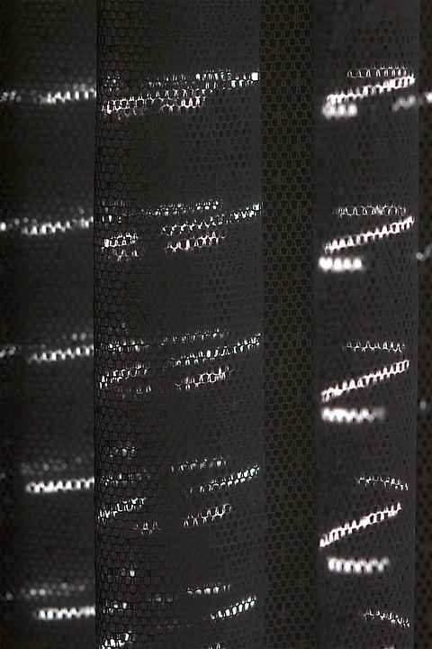 Experiment, Light Strips, Shadow, Curtain, Light