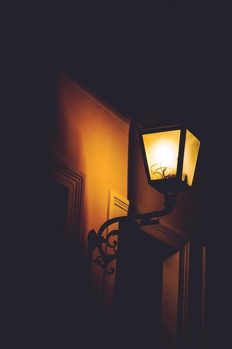 Lights, Night, Shadow, Street