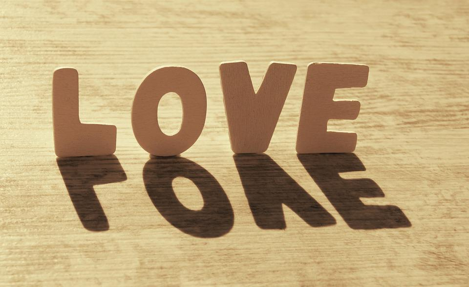 Love, Heart, Shadow, Affection, Romance, Sun, Romantic