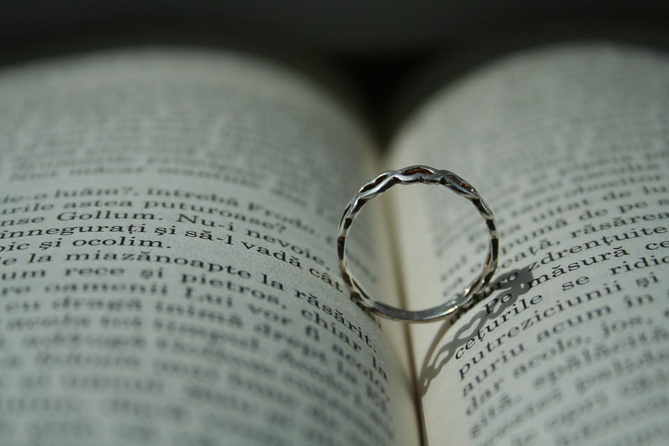 Ring, Book, Written, Simplicity, Shadow, Small