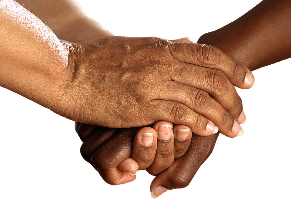 Hands, Shake, Encouragement, Together, Help