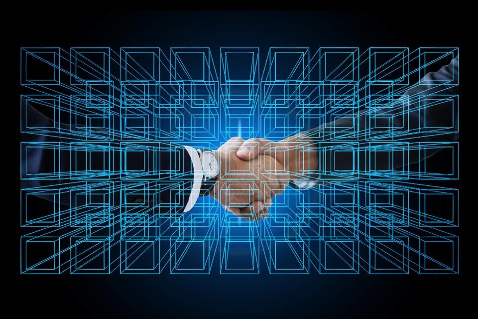 Block Chain, Personal, Shaking Hands, Handshake, Data