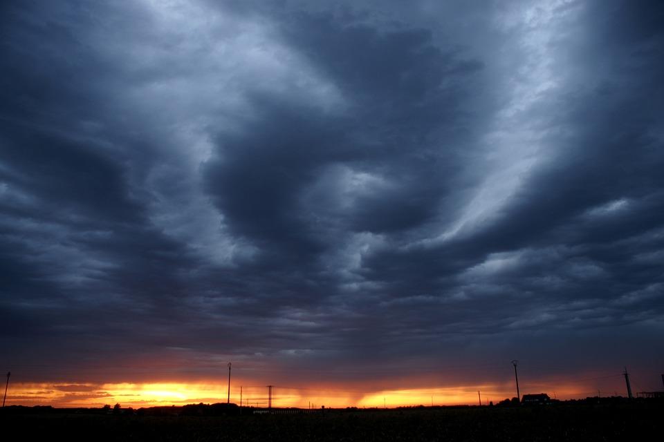 Storm, Bad Weather, Clouds, Strange, Shape, Dark, Scary