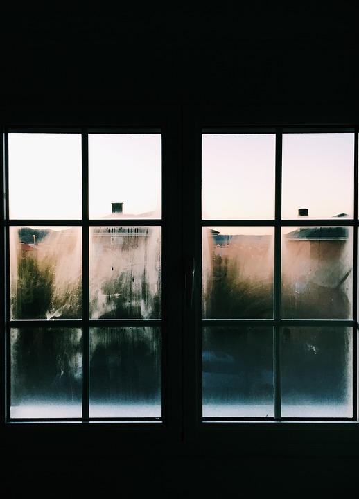 Dirty, Glass, Glass Panes, Pattern, Shape, Windows