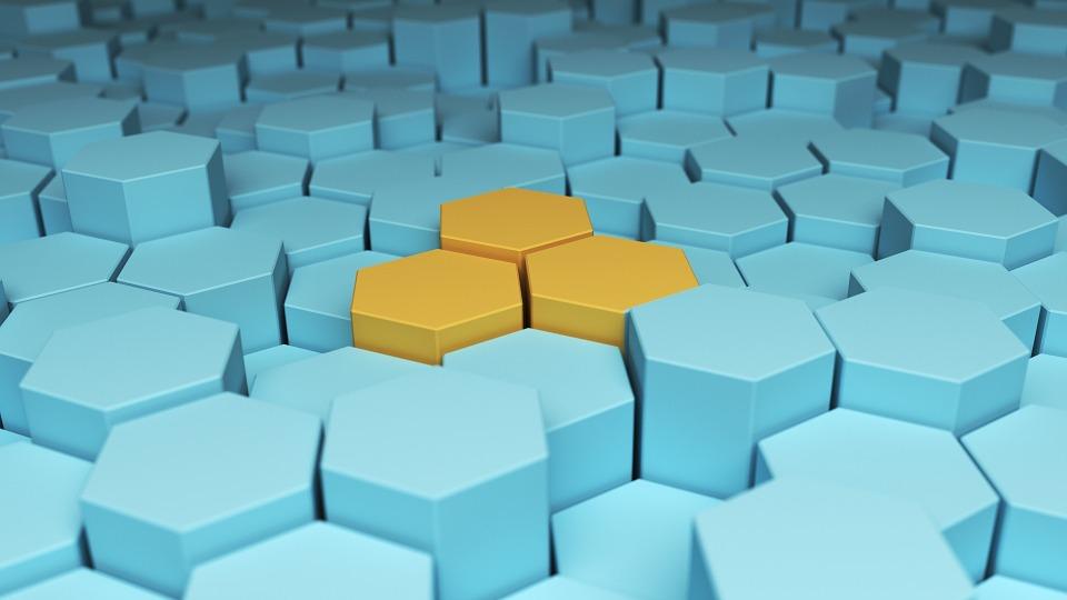 Hex, Hexagonal, Abstract, Modern, Shape, Simple