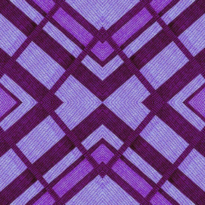 Fabric, Geometric, Purple, Blue, Tint, Hue, Shapes