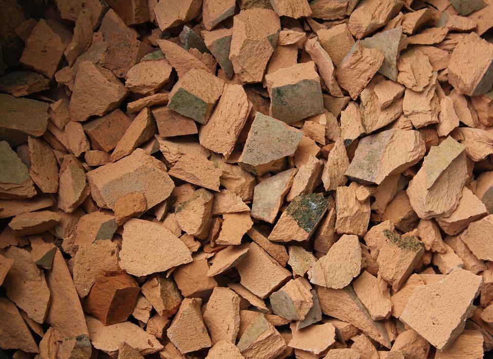 Broken, Clay Pots, Shard, Chips, Backdrop, Header