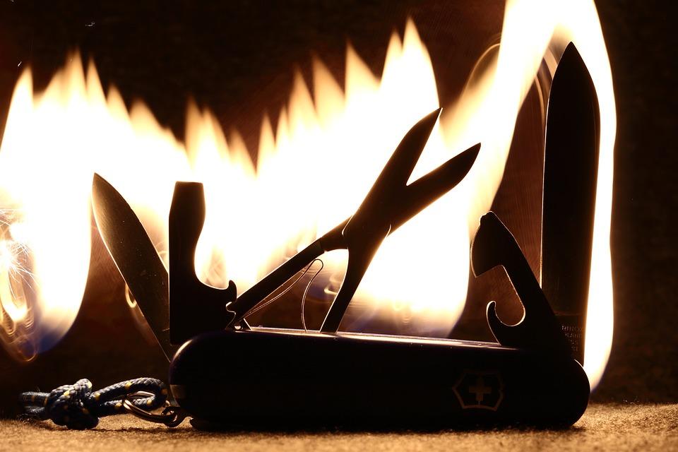 Knife, Sharp, A Pocket Knife, Swiss Army Knife