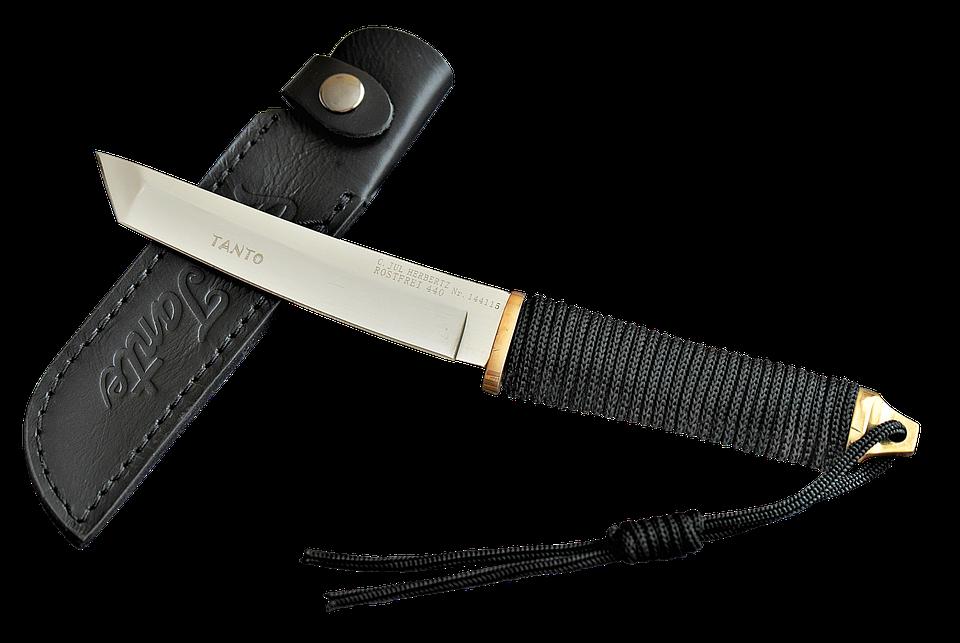 Knife, Tanto, Sharp, Weapon, Blade, Japanese