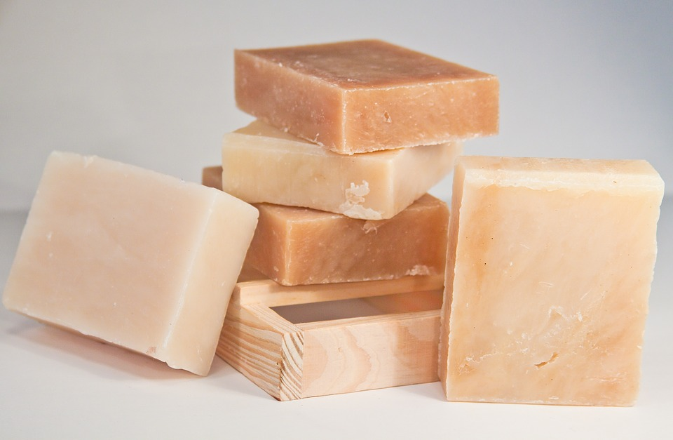 Soap, Laeh, Shea, Hand Made