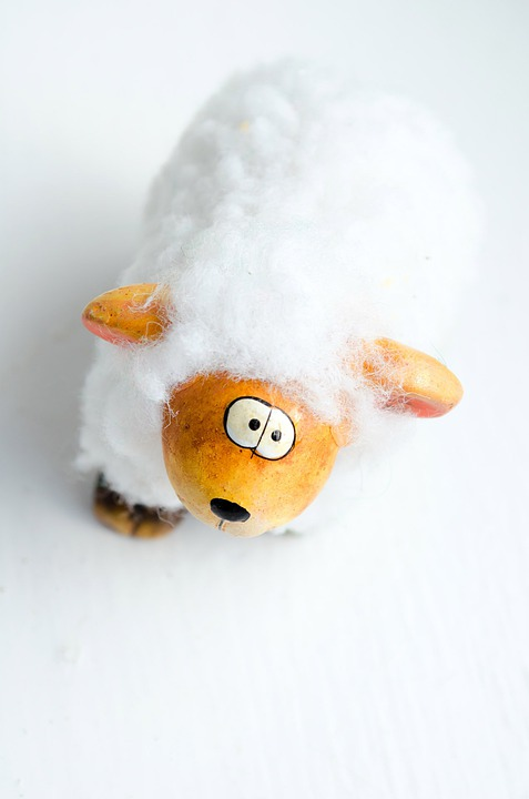 Easter, Sheep, Decoration, Background, Toy, Fun