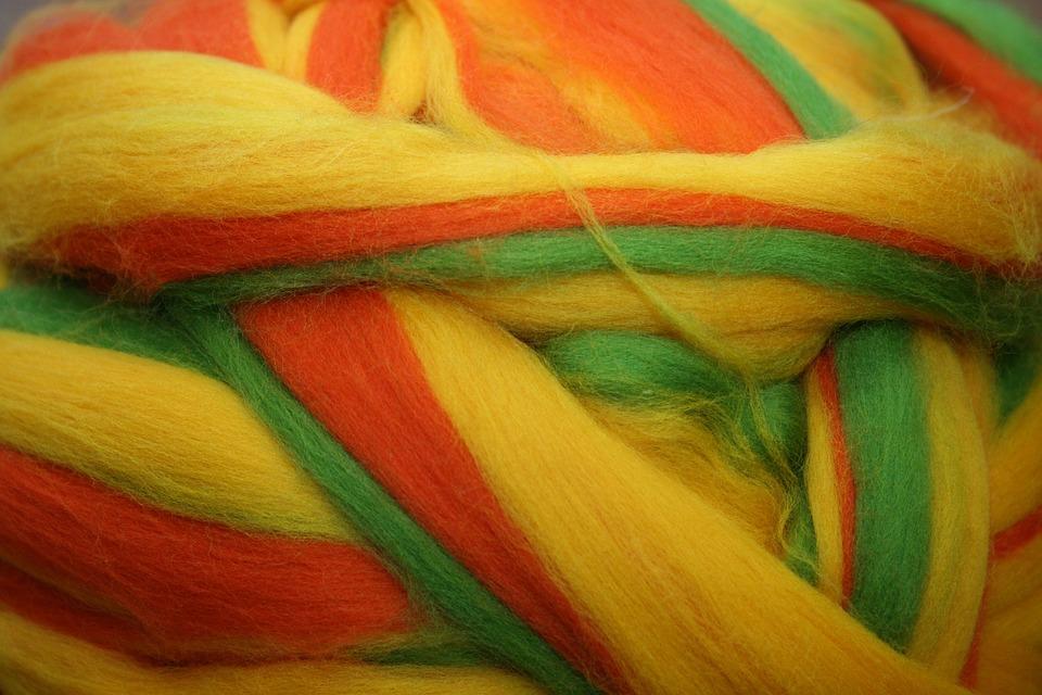 Wool, Sheep's Wool, Lamb Days, Colorful