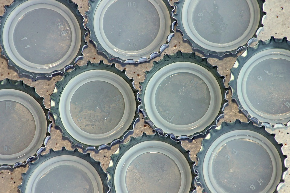 Bottle Caps, Lid, Closure, Bottle, Sheet, Crown Shaped