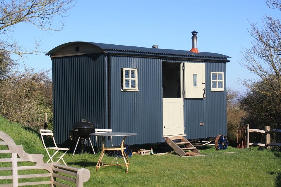 Shepherds Hut, Rural, Holiday, Cabin, Hut, Countryside
