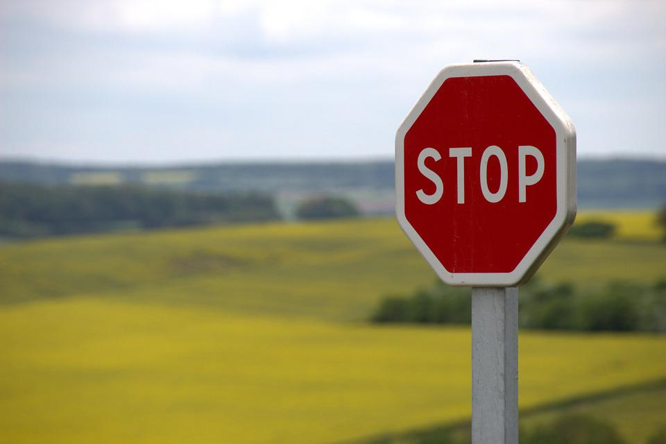 Stop, Shield, Traffic Sign, Road Sign, Attention