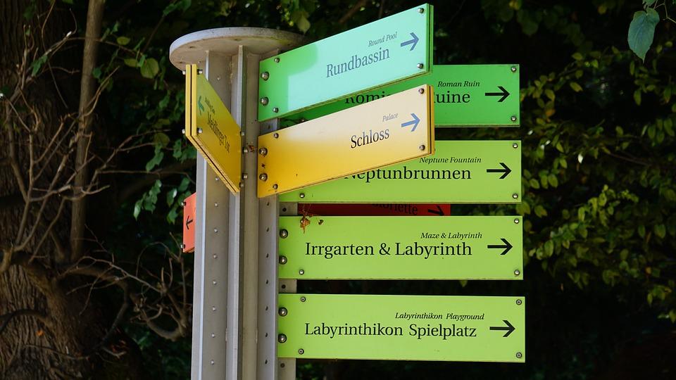 Directory, Vienna, Shield, Yellow, Text, Design