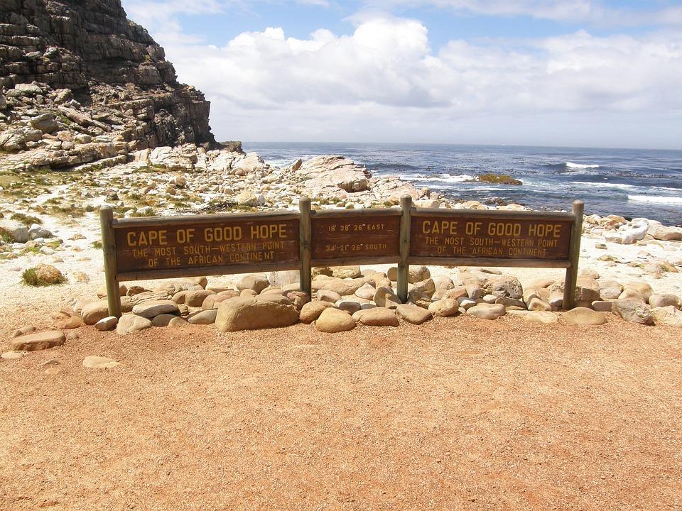 South Africa, Cape Of Good Hope, Shield, Coast, Cape
