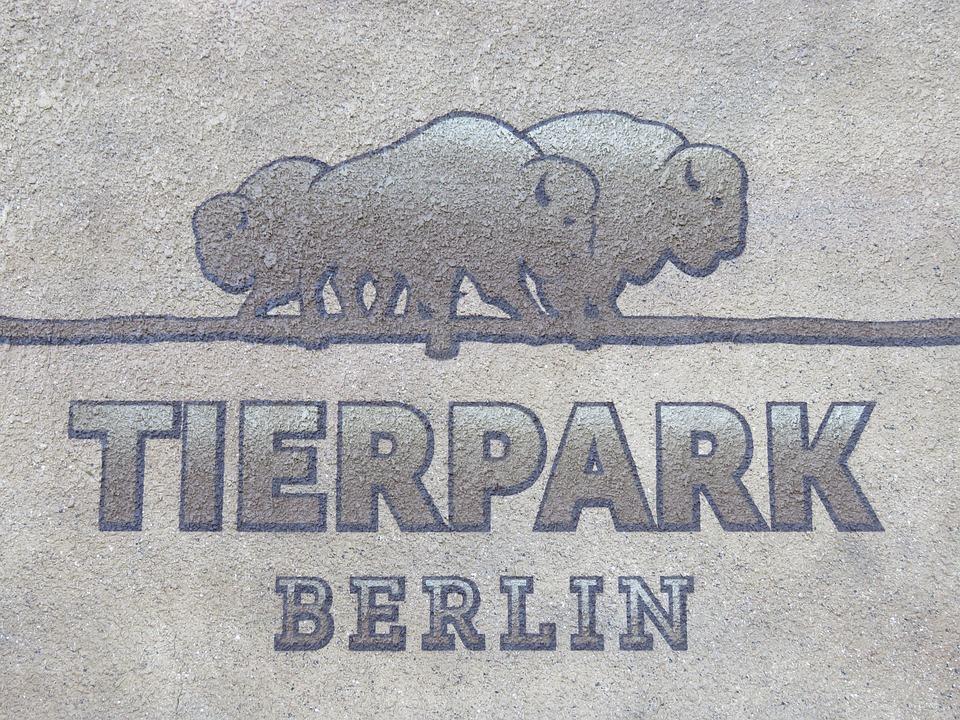 Zoo, Berlin, Park, Wall Art, Directory, Shield, Logo