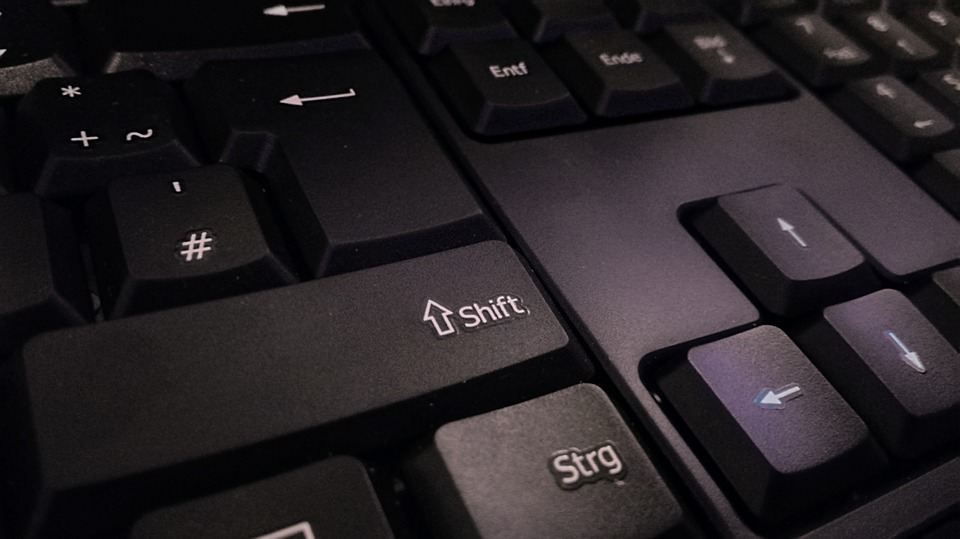 Keyboard, Shift, Leave, Computer, Computer Keyboard