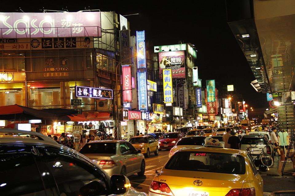 Shilin Night Market, Comfortable Night, Light
