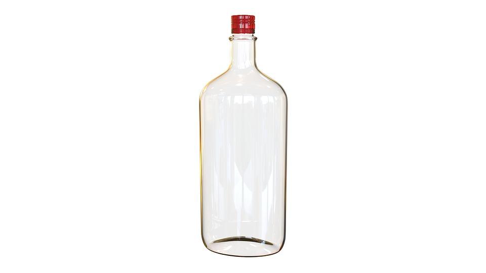 Bottle Whiskey, Vacuum, Barman, Bar, Shine, Transparent