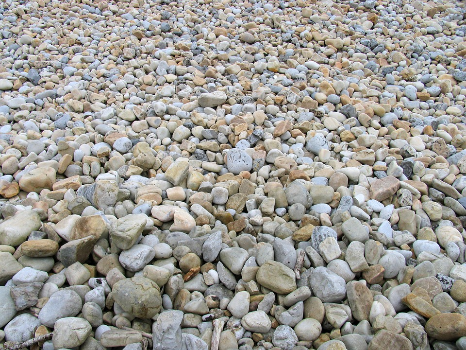 Stones, Shingle Beach, Boulders, Empedrado