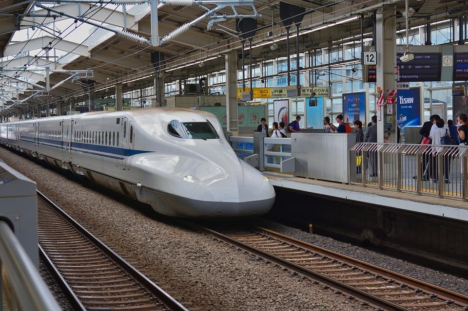 Japan, Shinkansen, Railway Station, Travel